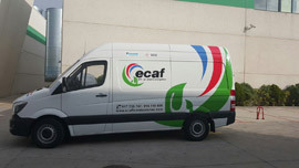 vehiculos ECAF