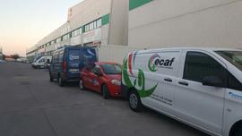 flota de vehículos industriales ECAF