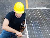 energía solar ECAF